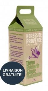 Kit prêt à pousser® - Herbes de Provence