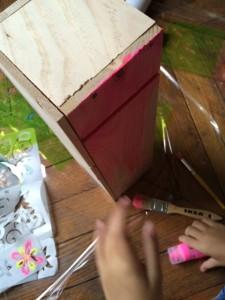 balconnière en bois