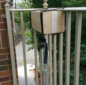balconnières en bois