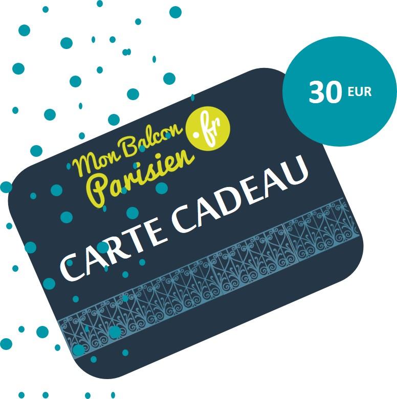 Carte Cadeau - 30 EUR