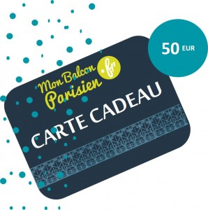 Carte Cadeau - 50 EUR