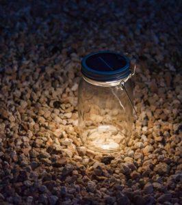 LAMPE JARRE SOLAIRE