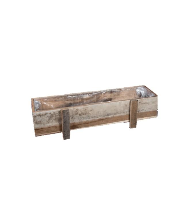 Jardinière en bois 100cm