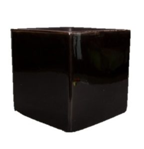 Cube en céramique noir...