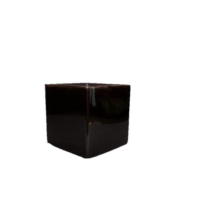Cube en céramique noir