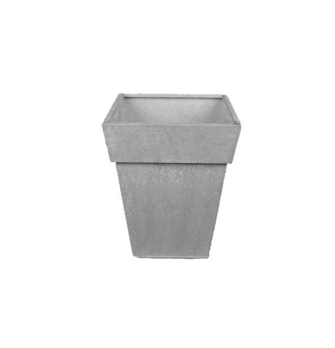 Pot en zinc