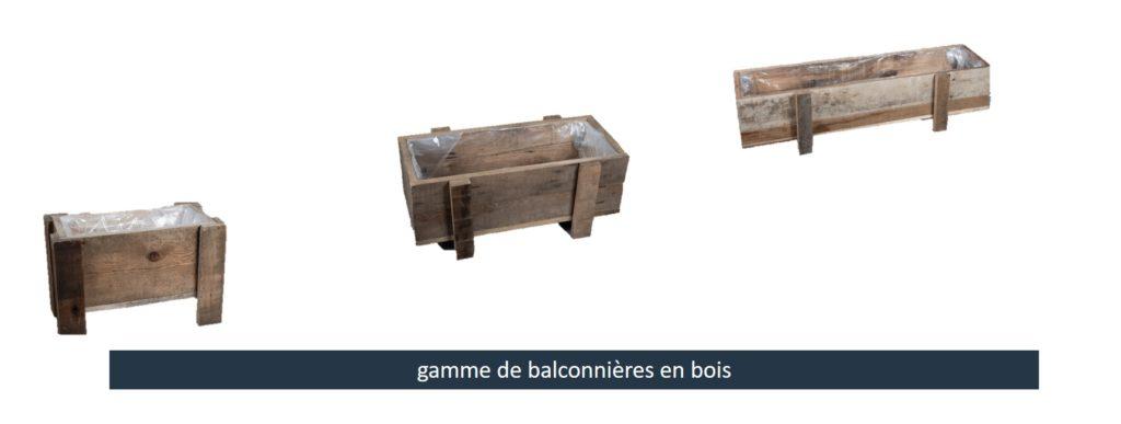 pots pour balcons